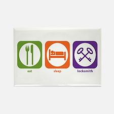 Eat Sleep Locksmith Rectangle Magnet