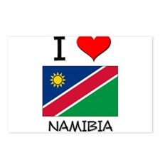 I Love Namibia Postcards (Package of 8)