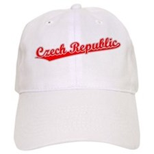 Retro Czech Republic (Red) Baseball Cap