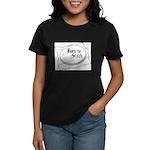 Embroidery Hoop - Born to Sti Women's Dark T-Shirt