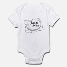 Embroidery Hoop - Born to Sti Infant Bodysuit
