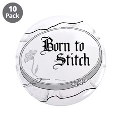 Embroidery Hoop - Born to Sti 3.5