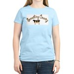 Something Country Cow Women's Pink T-Shirt