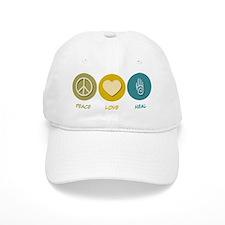 Peace Love Heal Baseball Cap