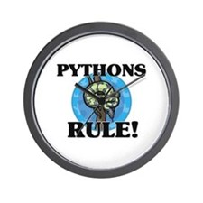 Pythons Rule! Wall Clock