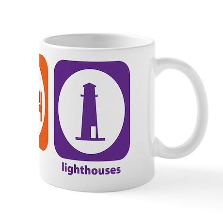 Eat Sleep Lighthouses Mug