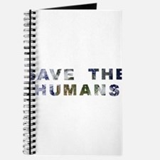 Cute Save the humans Journal
