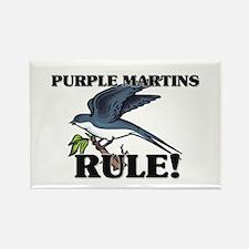 Purple Martins Rule! Rectangle Magnet