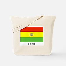 Bolivia Bolivian Flag Tote Bag