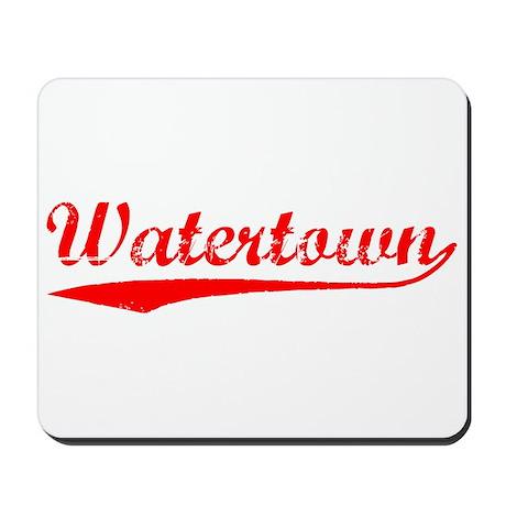 Vintage Watertown (Red) Mousepad