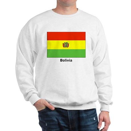 Bolivia Bolivian Flag (Front) Sweatshirt