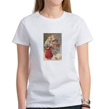Children at Sewing Machine Tee