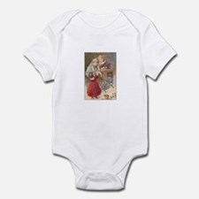Children at Sewing Machine Infant Bodysuit