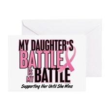 My Battle Too 1 (Daughter BC) Greeting Cards (Pk o
