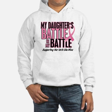 My Battle Too Womens Hooded Sweatshirt
