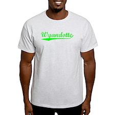 Vintage Wyandotte (Green) T-Shirt
