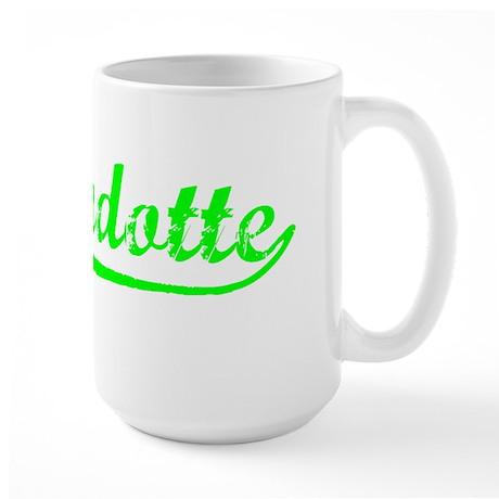 Vintage Wyandotte (Green) Large Mug