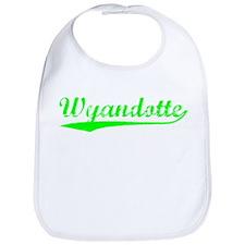 Vintage Wyandotte (Green) Bib