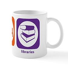 Eat Sleep Libraries Mug
