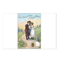 Children - Vintage Thread Ad Postcards (Package of