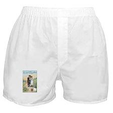 Children - Vintage Thread Ad Boxer Shorts