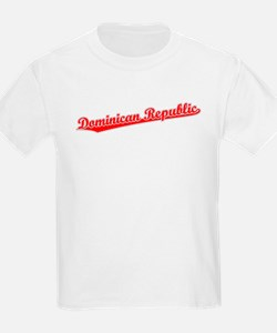 Retro Dominican Re.. (Red) T-Shirt