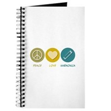 Peace Love Harmonica Journal