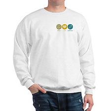 Peace Love Harmonica Sweatshirt