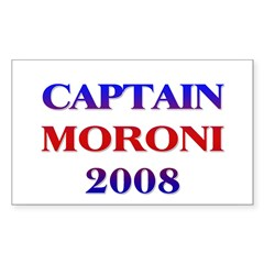 Captain Moroni 2008 Rectangle Decal