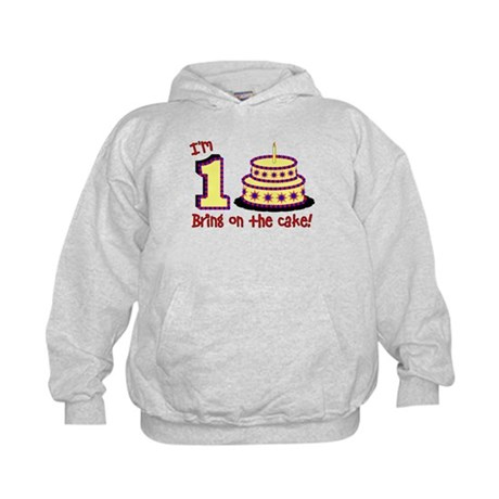 First Birthday Kids Hoodie