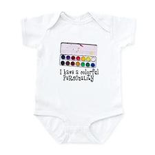 Artist Paints - Colorful Pers Infant Bodysuit