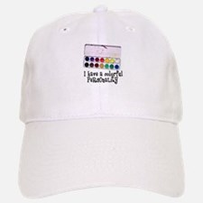 Artist Paints - Colorful Pers Baseball Baseball Cap