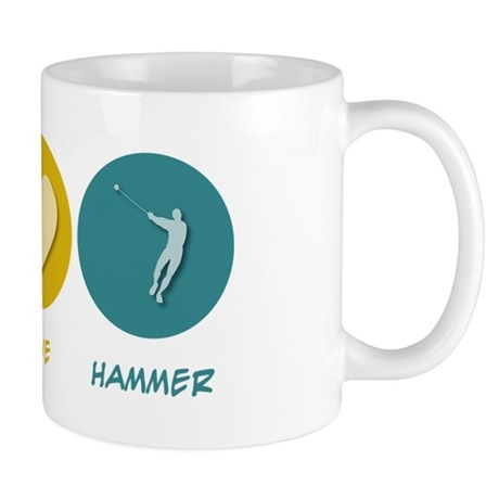 Peace Love Hammer Mug