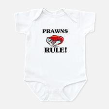 Prawns Rule! Infant Bodysuit