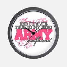 Strong&Sweet Army Girlfriend Wall Clock