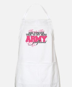 Strong&Sweet Army Girlfriend BBQ Apron