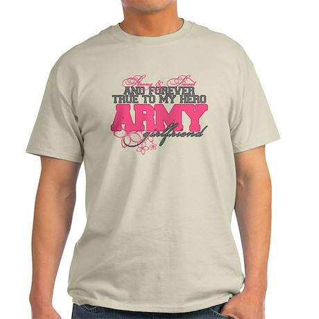 Strong&Sweet Army Girlfriend Light T-Shirt