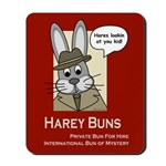 Harey Buns Mousepad