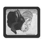 Snuggle Bunnies Mousepad