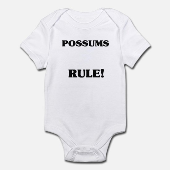 Possums Rule! Infant Bodysuit