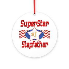 Superstar Stepfather Ornament (Round)