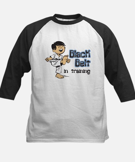 Black Belt in Training Kids Baseball Jersey