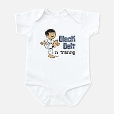 Black Belt in Training Infant Bodysuit