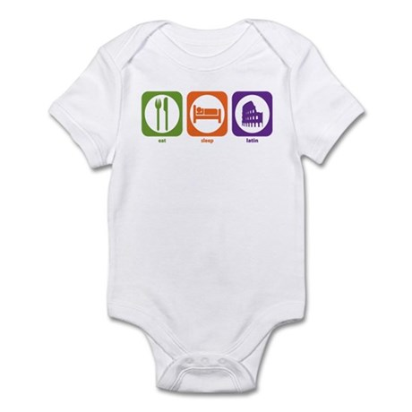 Eat Sleep Latin Infant Bodysuit