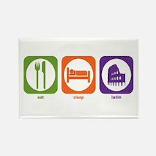 Eat Sleep Latin Rectangle Magnet (10 pack)