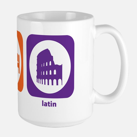 Eat Sleep Latin Large Mug