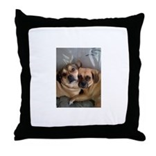 Funny Rocky Throw Pillow