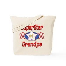 Superstar Grandpa Tote Bag