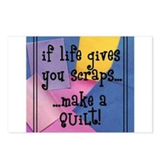 If Life Gives You Scraps - Qu Postcards (Package o