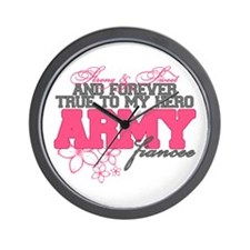 Strong&Sweet Army Fiancee Wall Clock